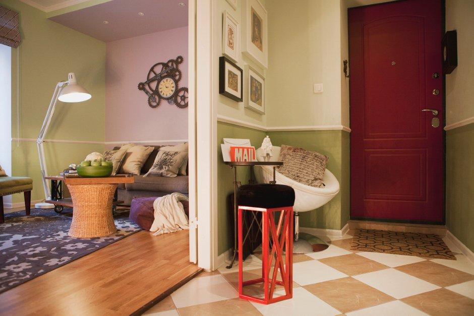 Фотография: Прихожая в стиле , DIY, Квартира, Дома и квартиры, IKEA – фото на INMYROOM