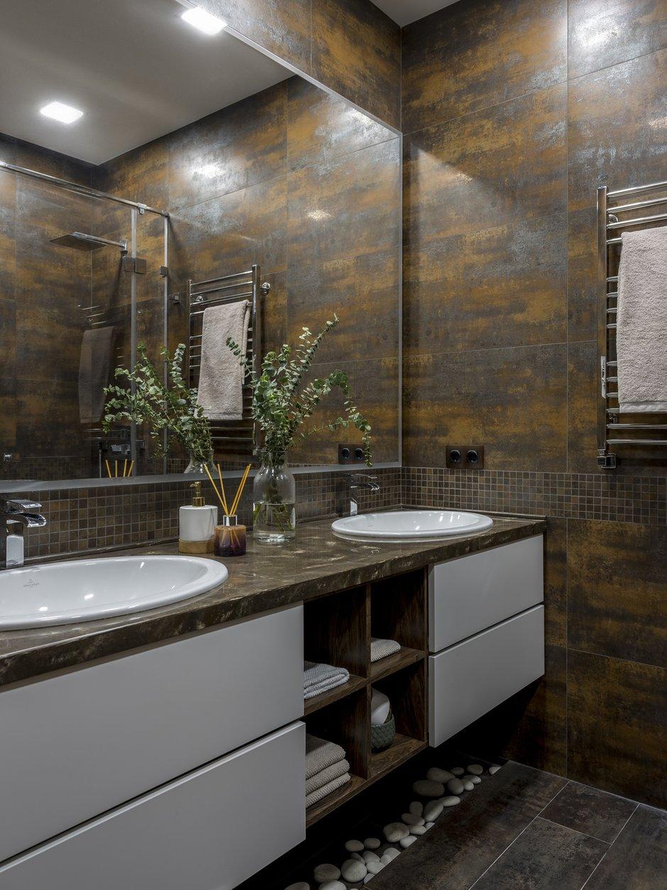 Фотография: Ванная в стиле Современный, Квартира, Проект недели, Лидия Большакова, Новогорск, 4 и больше, Более 90 метров – фото на INMYROOM