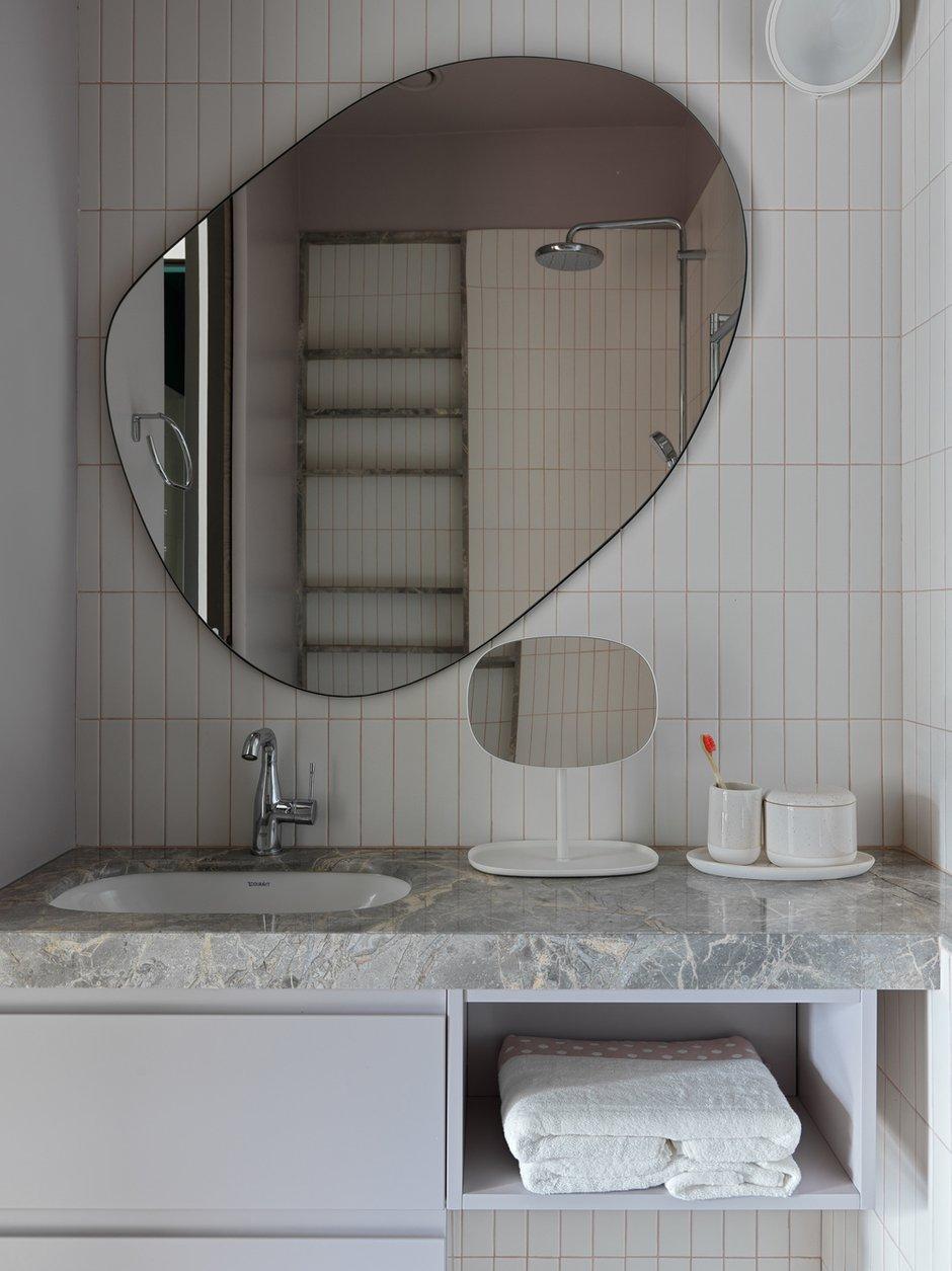 Фотография: Ванная в стиле Современный, Квартира, Проект недели, Москва, 4 и больше, Более 90 метров, ТУДА – фото на INMYROOM