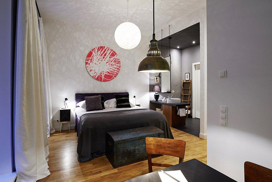 Фотография: Спальня в стиле Восточный, Квартира, Германия, Дома и квартиры – фото на INMYROOM