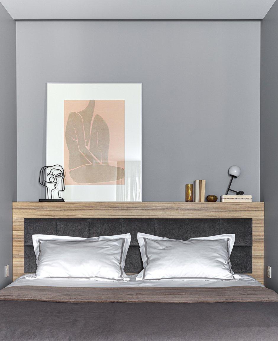 Фотография: Спальня в стиле Современный, Квартира, Студия, Проект недели, Реутов, 40-60 метров, Elements, ПРЕМИЯ INMYROOM – фото на INMYROOM