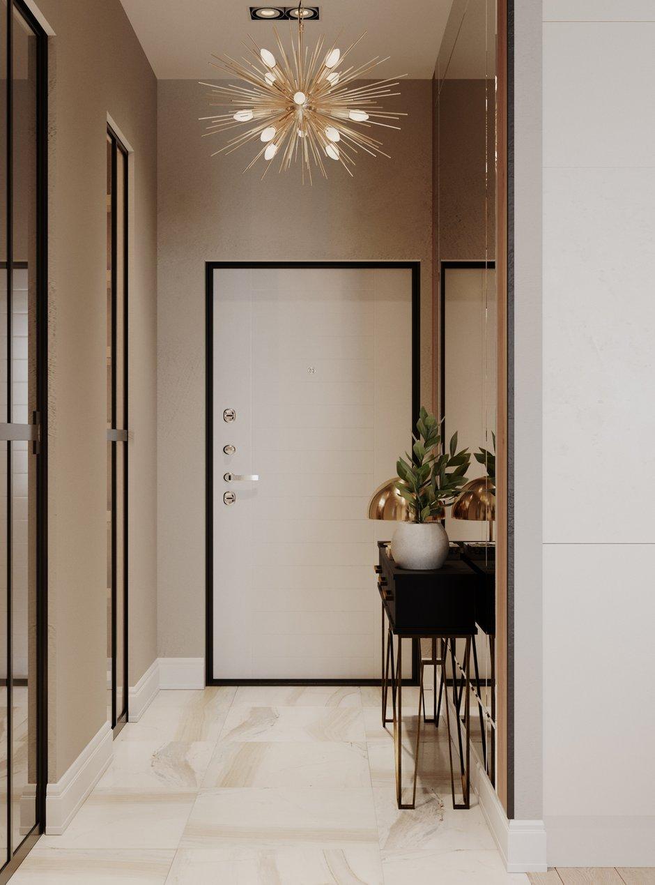 Фотография: Прихожая в стиле Современный, Квартира, Проект недели, Samsung, Монолитный дом, 3 комнаты, 60-90 метров, ЖК Headliner, Леся Печенкина – фото на INMYROOM