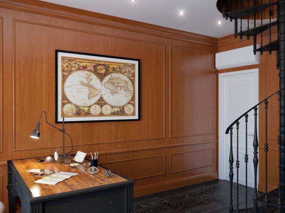 Фотография: Офис в стиле , Декор интерьера, Дом, Artemide, Vistosi, Дома и квартиры, Проект недели, Ideal Lux, Таунхаус – фото на INMYROOM