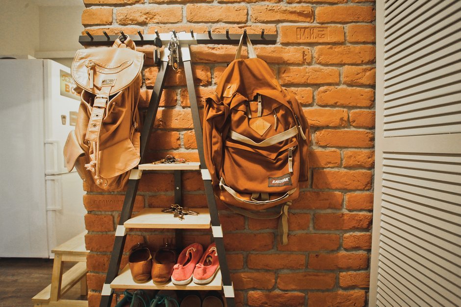 Фотография: Прихожая в стиле Лофт, DIY, Квартира, Дома и квартиры, IKEA – фото на INMYROOM