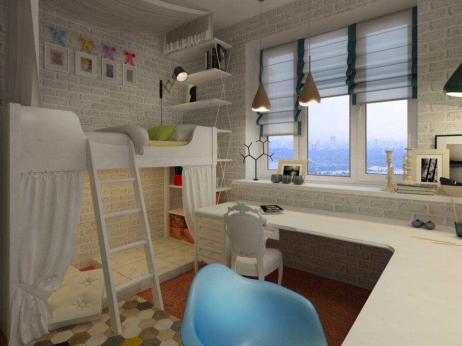 Фотография: Детская в стиле , Квартира, Дома и квартиры, Проект недели, Переделка – фото на INMYROOM