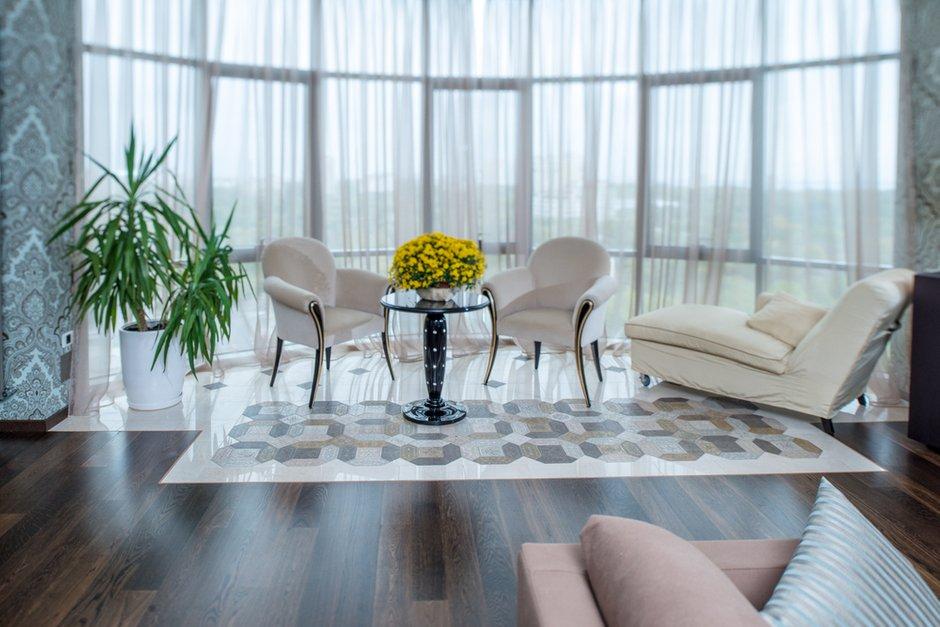 Фотография: Гостиная в стиле Современный, Интерьер комнат, Проект недели – фото на INMYROOM