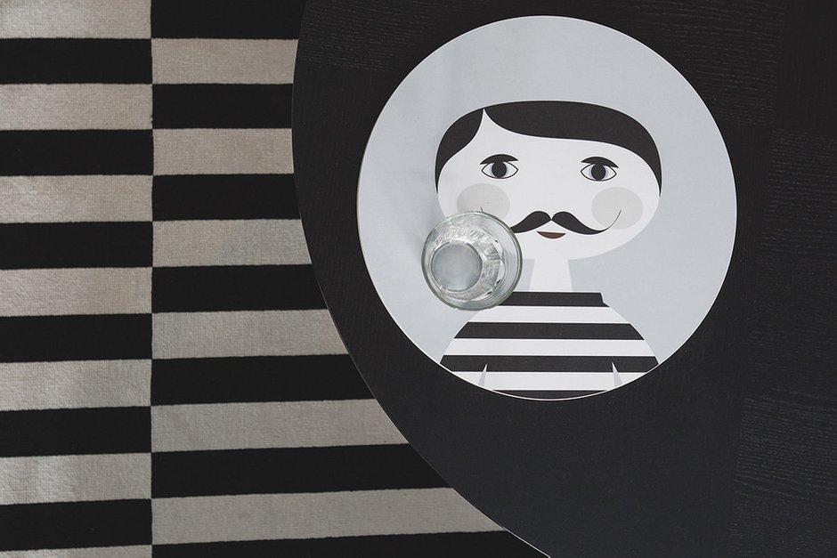 Фотография:  в стиле , Квартира, Проект недели, Москва, Ирина Крашенинникова, 3 комнаты, Более 90 метров, Монолитно-кирпичный – фото на INMYROOM
