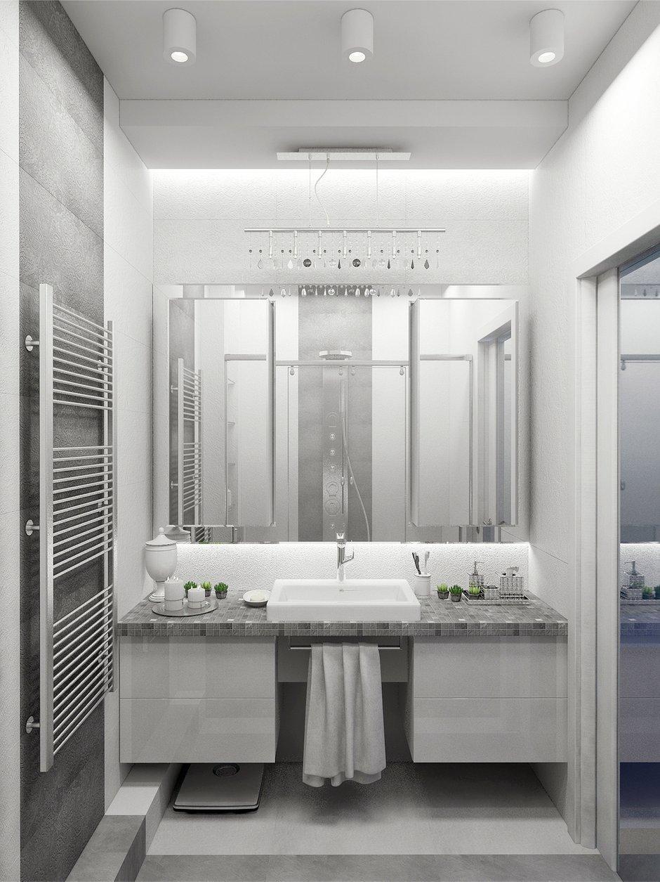 Фотография: Ванная в стиле Хай-тек, Декор интерьера, Квартира, Christopher Guy, Massive, HOFF, Дома и квартиры, IKEA, Проект недели – фото на INMYROOM