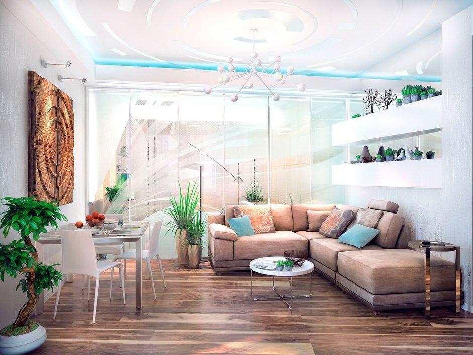 Фотография: Гостиная в стиле Современный, Декор интерьера, Квартира, Дома и квартиры, Проект недели, SLV – фото на INMYROOM