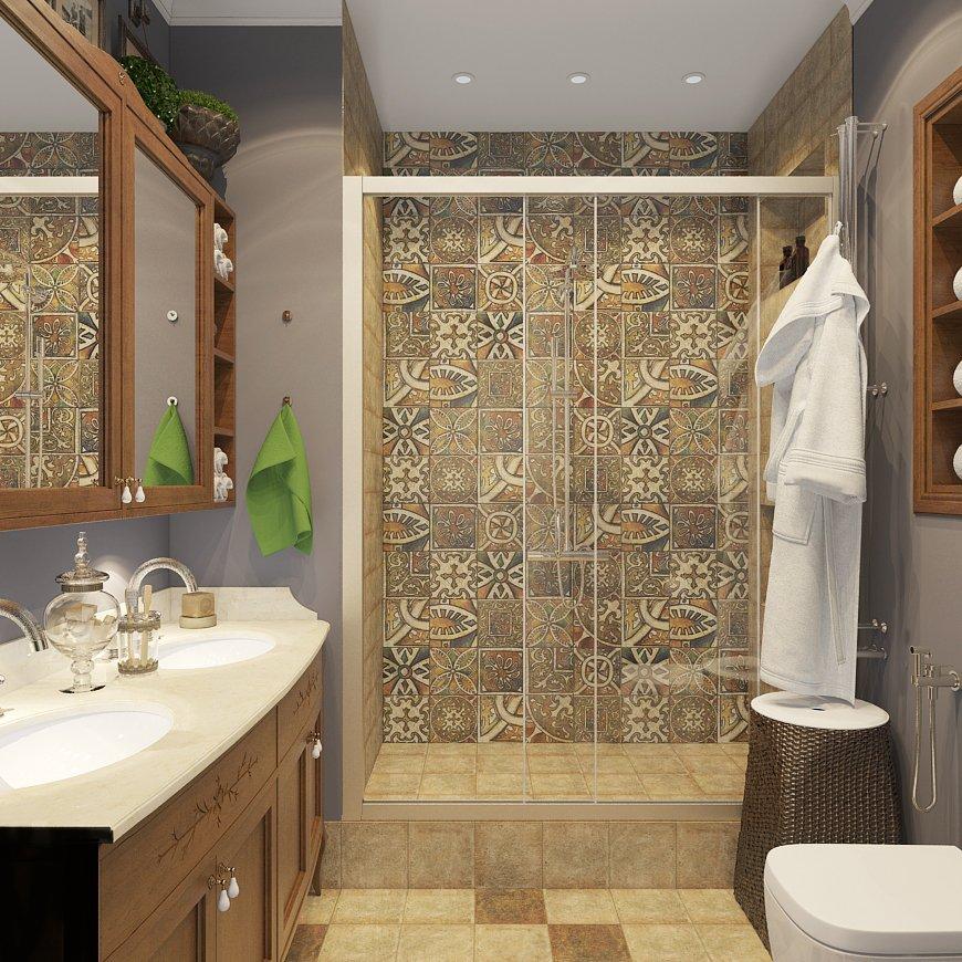 Фотография: Ванная в стиле Восточный, Лофт, Квартира, Дома и квартиры – фото на INMYROOM