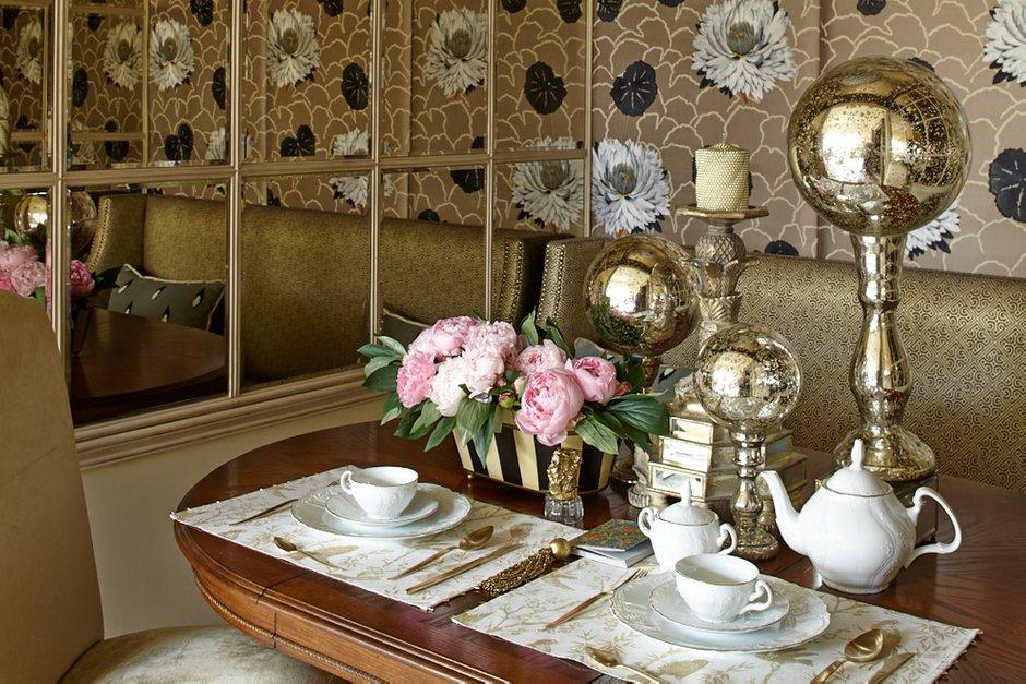 Фотография: Кухня и столовая в стиле Современный, Классический, Эклектика, Квартира, Текстиль, Дома и квартиры – фото на INMYROOM