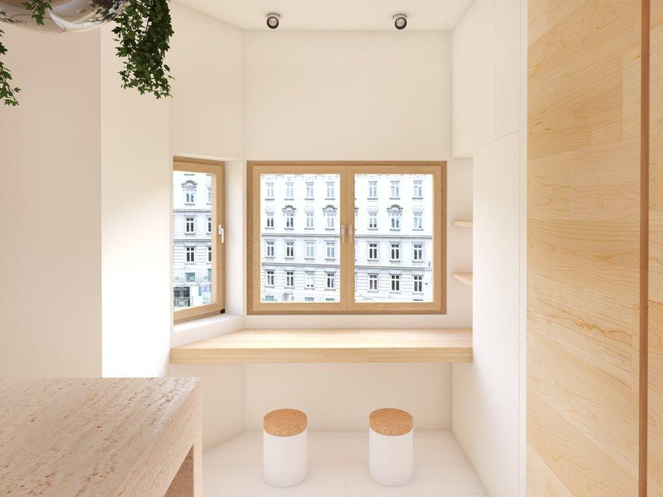 Фотография: Балкон, Терраса в стиле Современный, Восточный, Квартира, Дома и квартиры, Минимализм, Проект недели – фото на INMYROOM