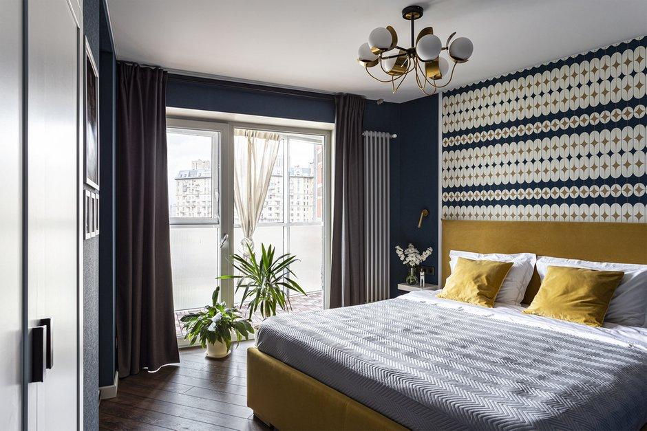 Фотография: Спальня в стиле Современный, Квартира, Проект недели, Санкт-Петербург, 3 комнаты, 60-90 метров, Анастасия Заркуа – фото на INMYROOM
