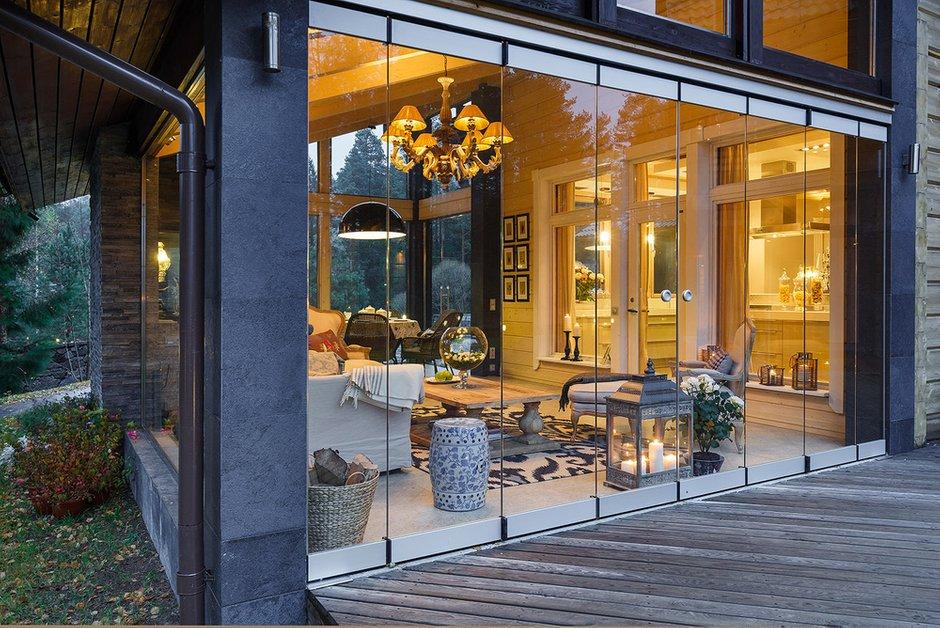 Фотография: Балкон, Терраса в стиле , Классический, Дом, Дома и квартиры, Проект недели, Дача – фото на INMYROOM