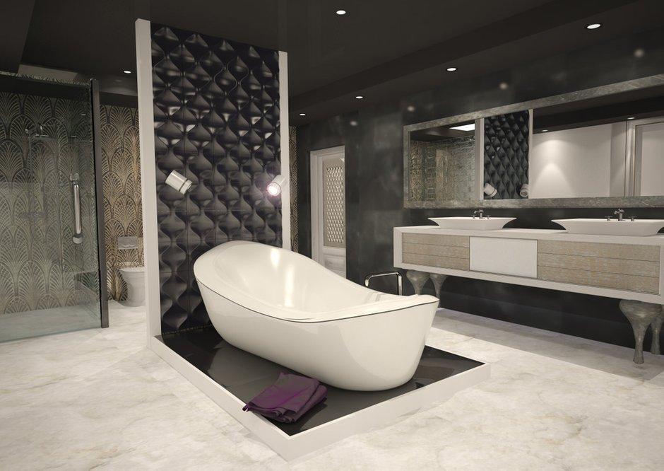 Фотография: Ванная в стиле Современный, Эклектика, Дом, Дома и квартиры – фото на INMYROOM