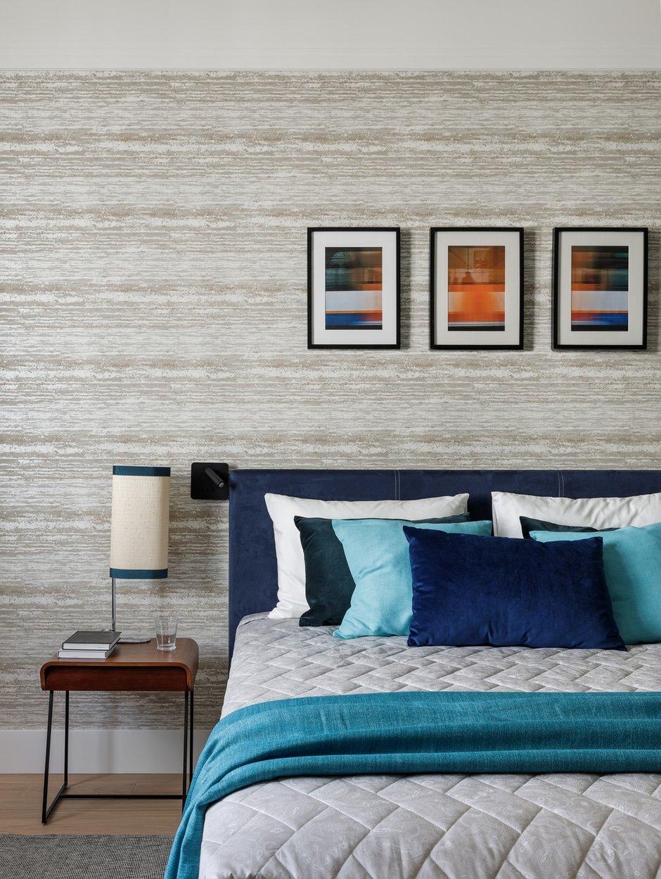 Фотография: Спальня в стиле Современный, Квартира, Проект недели, Санкт-Петербург, 3 комнаты, Более 90 метров, Аушрине Железнова – фото на INMYROOM