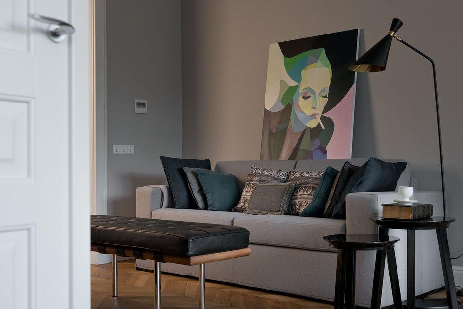 Фотография: Гостиная в стиле Современный, Эклектика, Квартира, Декор, Проект недели – фото на INMYROOM