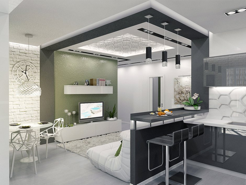 Фотография: Гостиная в стиле Лофт, Декор интерьера, Квартира, Christopher Guy, Massive, HOFF, Дома и квартиры, IKEA, Проект недели – фото на INMYROOM