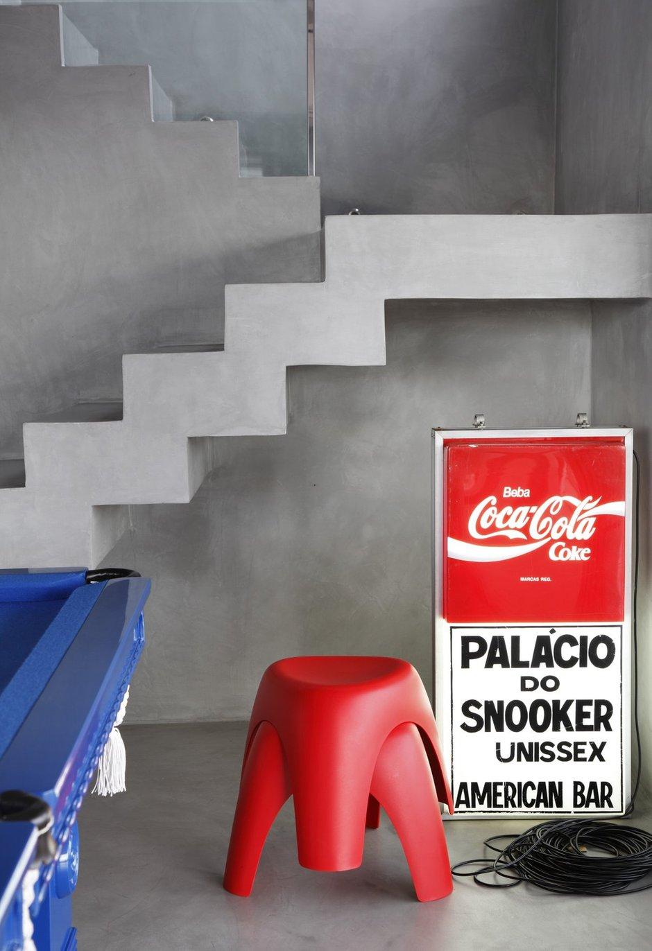 Фотография: Декор в стиле Современный, Дом, Цвет в интерьере, Дома и квартиры, Серый, Бразилия, Пол, Сан-Паулу – фото на INMYROOM