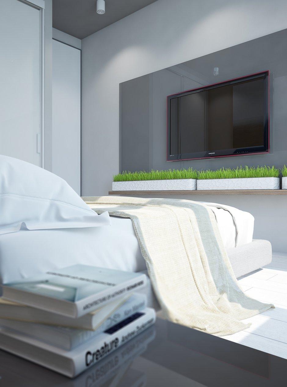 Фотография:  в стиле , Современный, Квартира, Белый, Проект недели, Зеленый, Коричневый, ИКЕА, Павел Алексеев, современный интерьер, идеи для детской, Delta Light, Одинцово, экостиль в интерьере, Tikkurila, Московская область, кухня-гостиная, кухня-гостиная со входами в спальни, система хранения в интерьере, обустройство отдельной гардеробной, квартира со свободной планировкой, свободная планировка, квартира в современном стиле, кухня-гостиная дизайн, современный стиль в интерьере, гардеробная в квартире, системы хранения для коридора, современные сценарии освещения, организация хранения, дизайн квартиры со свободной планировкой, Как оформить кухню в современном стиле, как оформить рабочее место в спальне, Stua, Design Plus, организация системы хранения на кухне, детская для двух детей – фото на INMYROOM