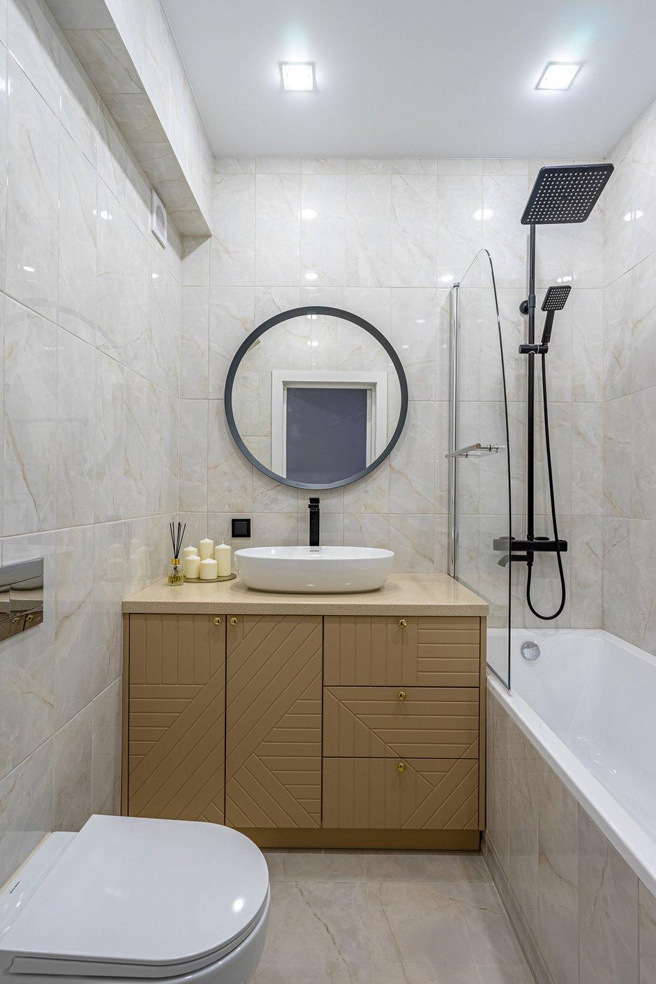 Фотография:  в стиле , Квартира, Проект недели, Москва, 3 комнаты, 60-90 метров, Марьям Разуваева – фото на INMYROOM