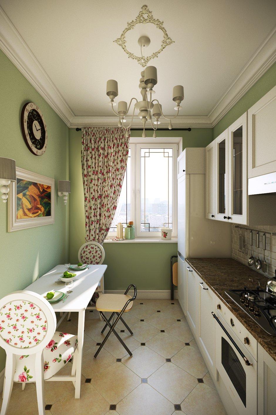 Фотография: Кухня и столовая в стиле Прованс и Кантри, Квартира, Дома и квартиры, IKEA, Проект недели, Москва – фото на INMYROOM