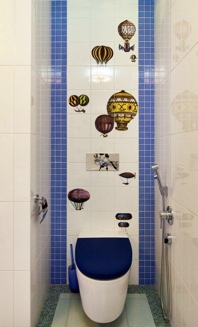 Фотография: Ванная в стиле Современный, Квартира, Италия, Дома и квартиры, Пентхаус, Люстра, Ар-деко – фото на INMYROOM