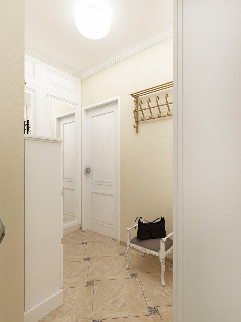 Фотография: Прихожая в стиле Прованс и Кантри, Малогабаритная квартира, Квартира, Дома и квартиры, Проект недели, Москва – фото на INMYROOM