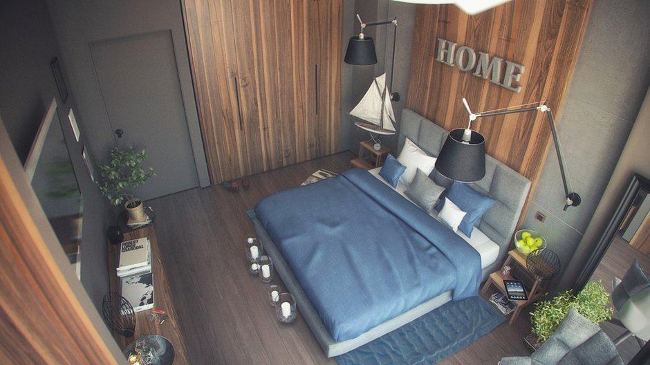 Фотография: Спальня в стиле Лофт, Эклектика, Квартира, Дома и квартиры, IKEA – фото на INMYROOM