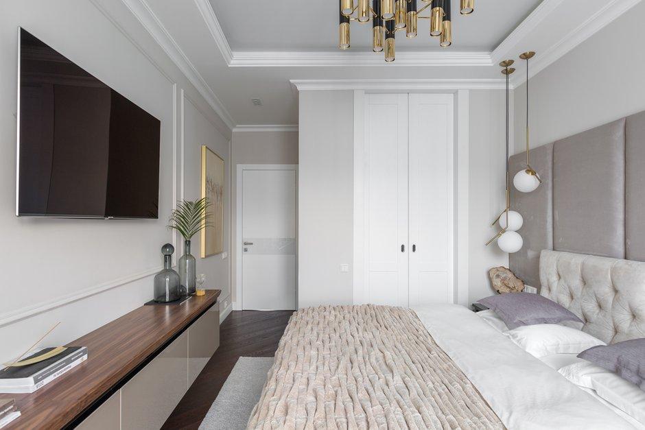 Фотография: Спальня в стиле Современный, Квартира, Проект недели, Москва, 3 комнаты, 60-90 метров, Анастасия Бондарева – фото на INMYROOM