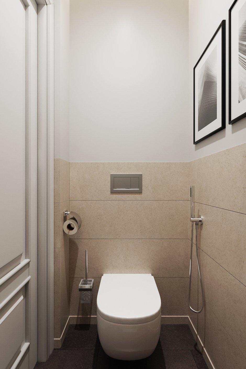 Фотография: Ванная в стиле Современный, Квартира, Проект недели, Москва, Светлана Старцева, Сталинка, 3 комнаты, 60-90 метров – фото на INMYROOM