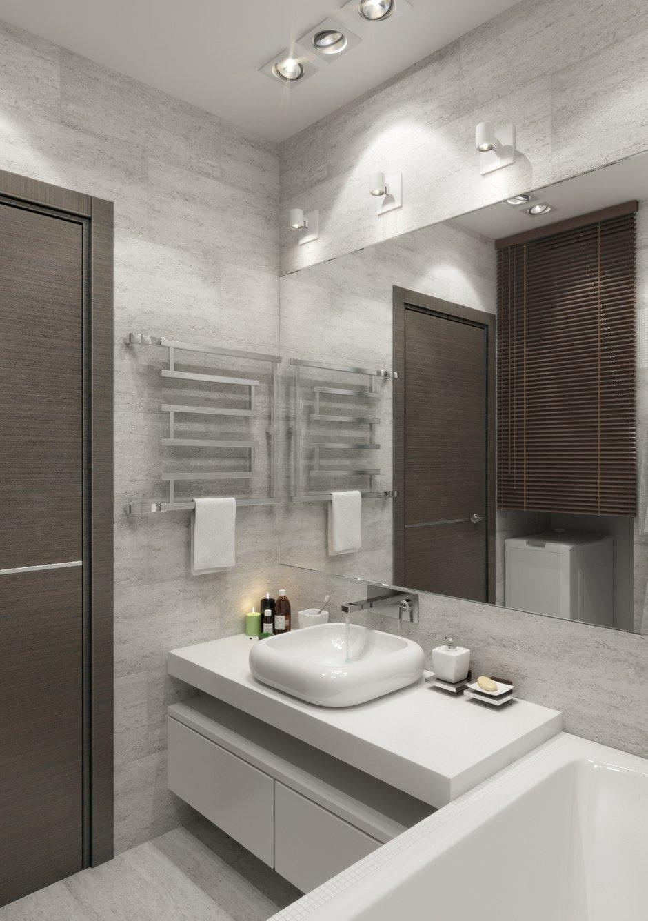 Фотография: Ванная в стиле Лофт, Современный, Квартира, Дома и квартиры, Проект недели – фото на INMYROOM