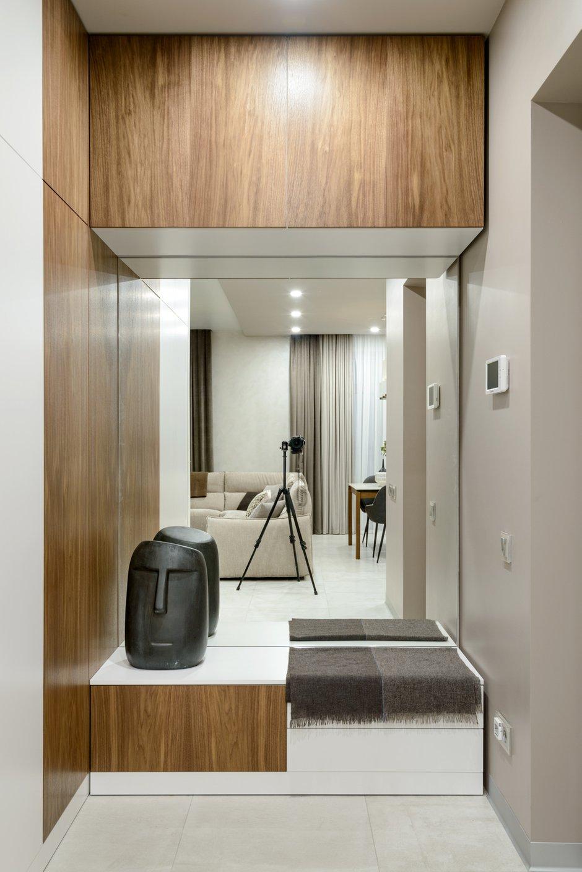 Фотография: Прихожая в стиле Современный, Квартира, Проект недели, Монолитный дом, 3 комнаты, Более 90 метров, Полина Степанова, D'POLLY – фото на INMYROOM
