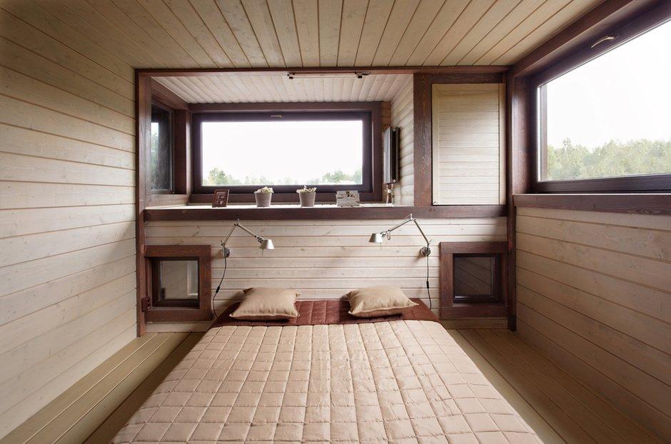 Фотография: Спальня в стиле Современный, Дом, Дома и квартиры, Проект недели, Дача – фото на INMYROOM