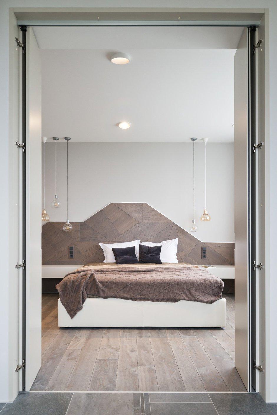 Фотография: Спальня в стиле Современный, Эко, Квартира, Минимализм, Проект недели – фото на INMYROOM