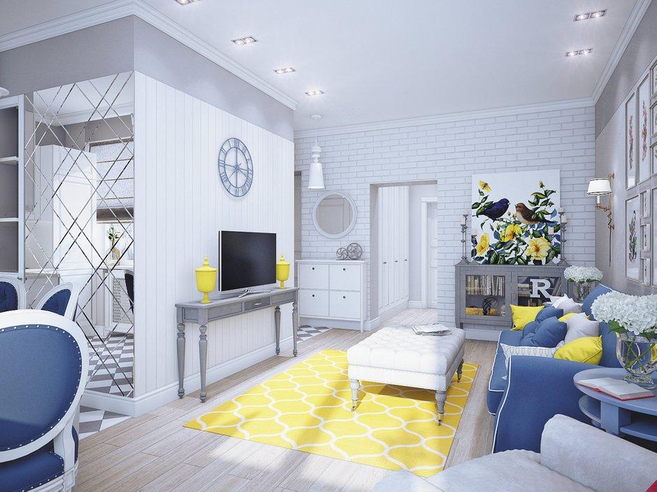 Фотография: Гостиная в стиле , Декор интерьера, DIY, Квартира, Restoration Hardware, Дома и квартиры, IKEA, Проект недели, Cosmorelax, Ideal Lux – фото на INMYROOM