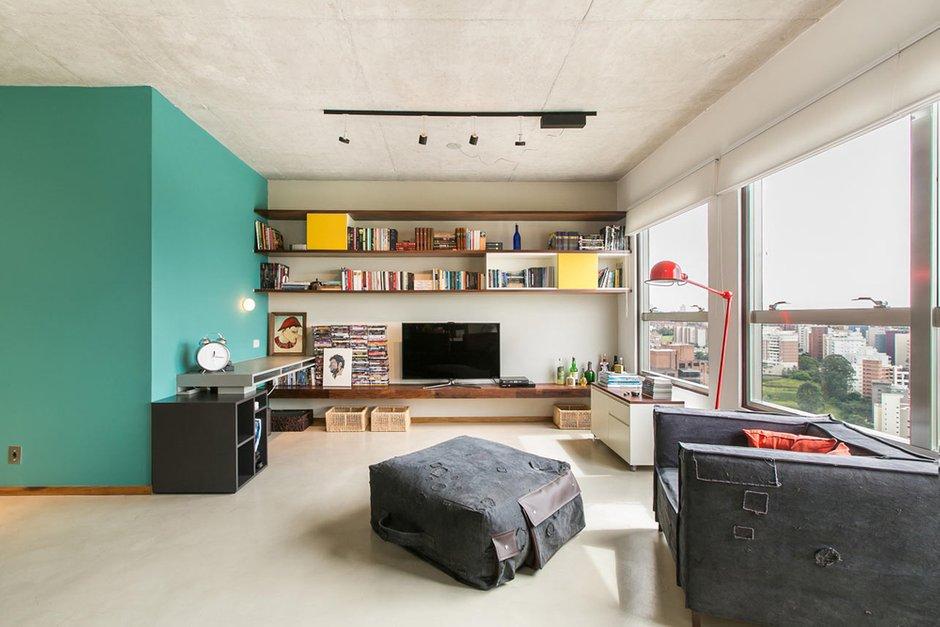 Фотография: Гостиная в стиле Современный, Декор интерьера, Малогабаритная квартира, Квартира, Дома и квартиры – фото на INMYROOM