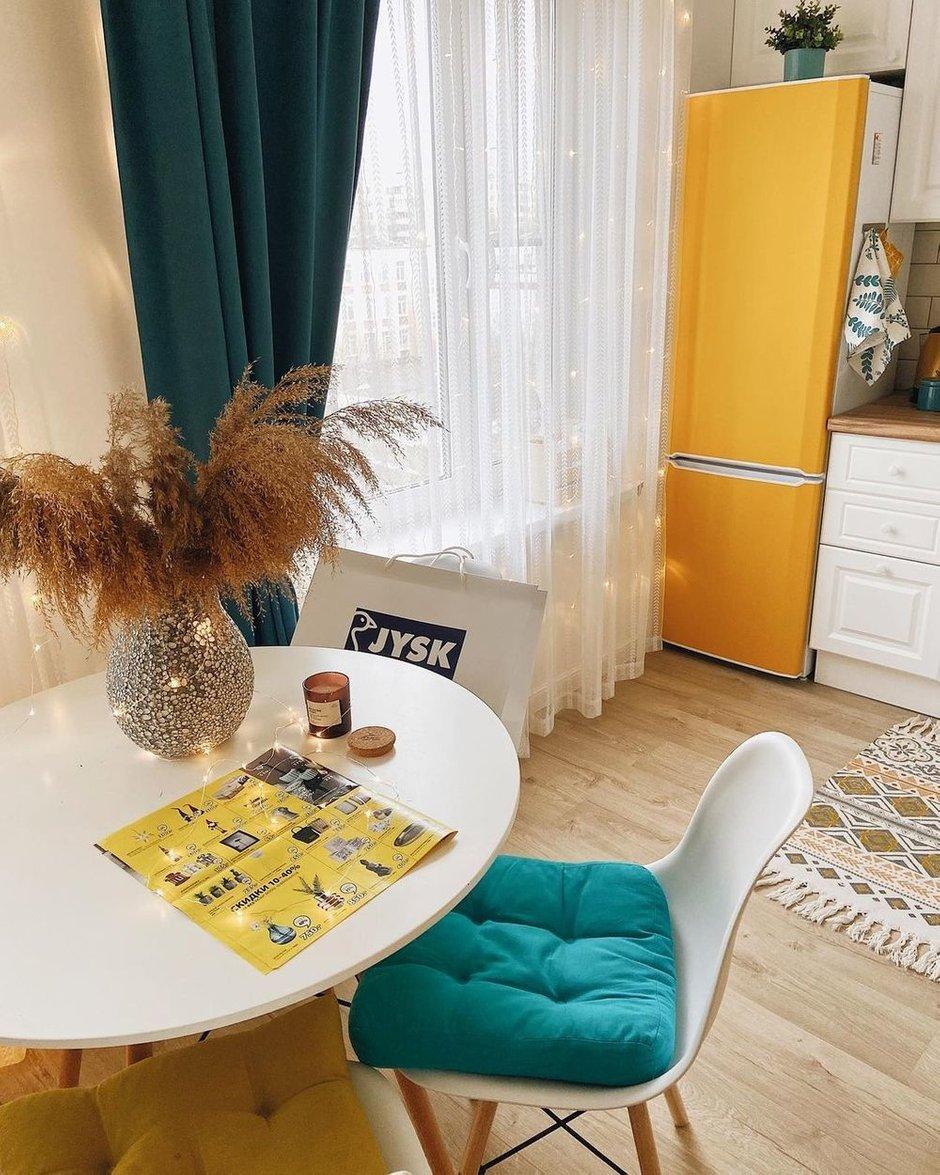 Фотография: Кухня и столовая в стиле Скандинавский, Квартира, Проект недели, Сбербанк, домклик, Сбер, СберСтрахование – фото на INMYROOM