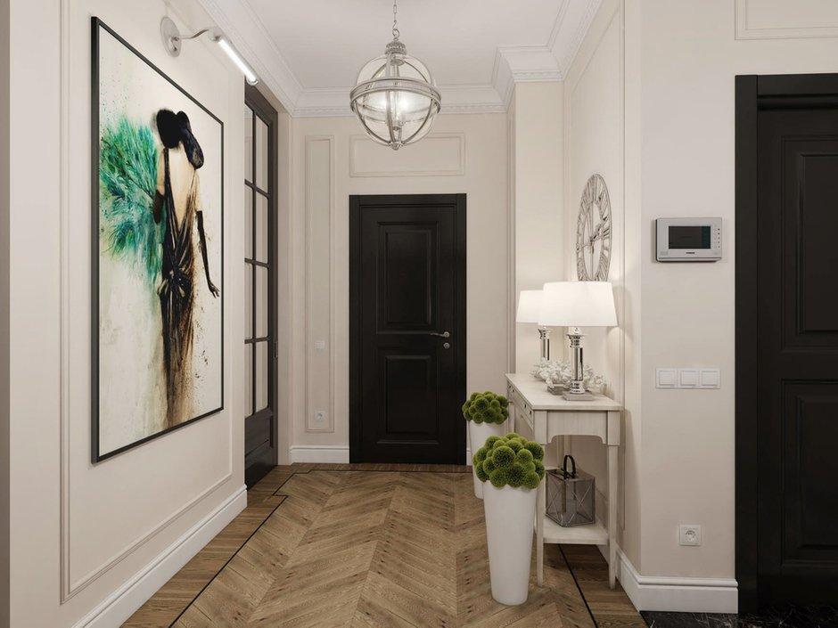 Фотография: Прихожая в стиле Классический, Проект недели, Москва, Светлана Старцева, 3 комнаты, Более 90 метров – фото на INMYROOM