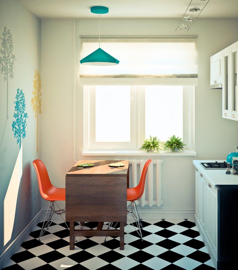Фотография: Кухня и столовая в стиле Скандинавский, Эклектика, Квартира, Дома и квартиры, IKEA, Проект недели – фото на INMYROOM