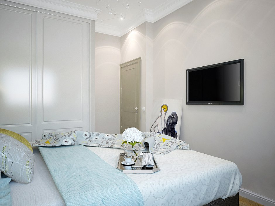 Фотография: Спальня в стиле Прованс и Кантри, Квартира, Дома и квартиры, Москва – фото на InMyRoom.ru