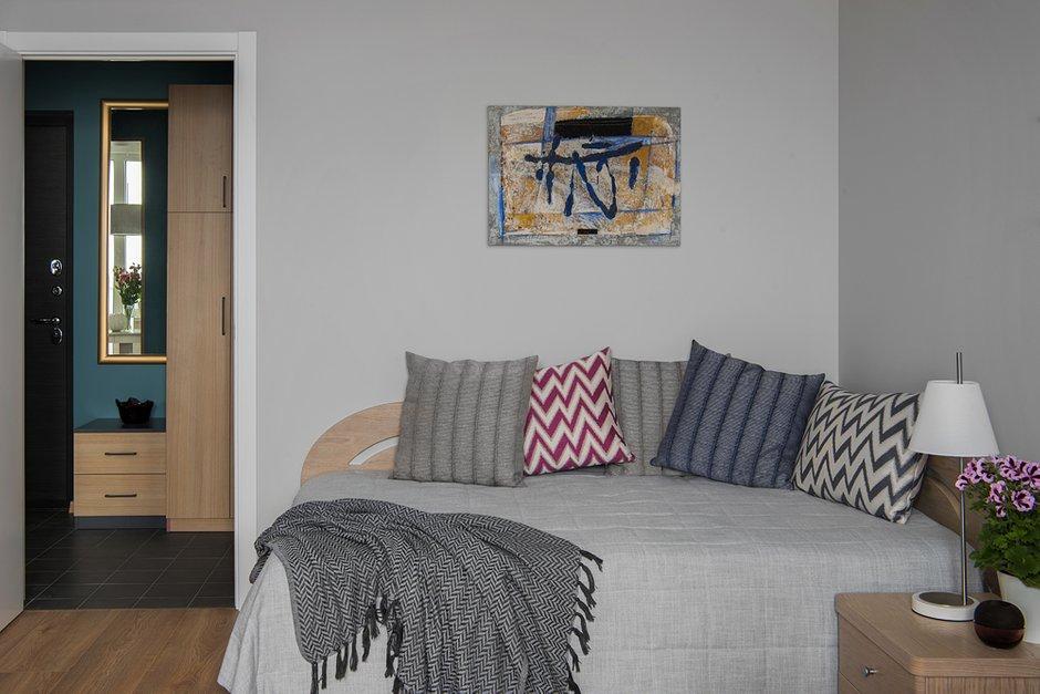 Фотография: Спальня в стиле Современный, Квартира, Советы, Проект недели, Москва, 1 комната, до 40 метров, Living Art Design, Наталия Суслина, ПРЕМИЯ INMYROOM – фото на INMYROOM