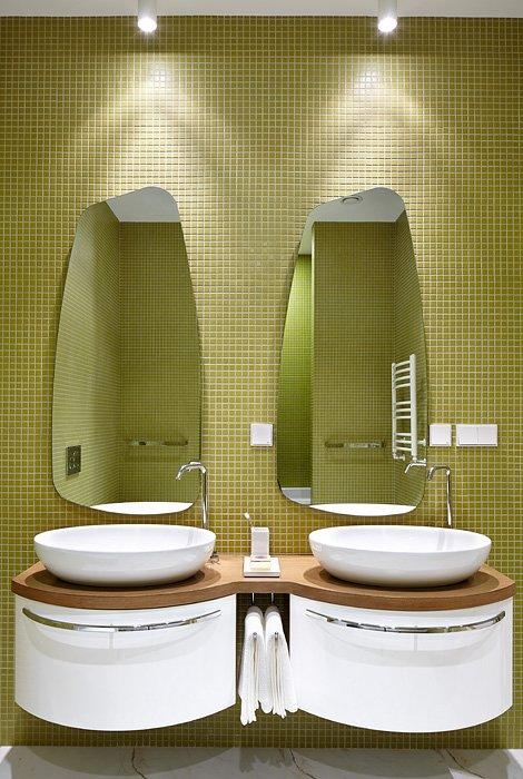 Фотография: Ванная в стиле Восточный, Квартира, BoConcept, Дома и квартиры, Проект недели – фото на INMYROOM