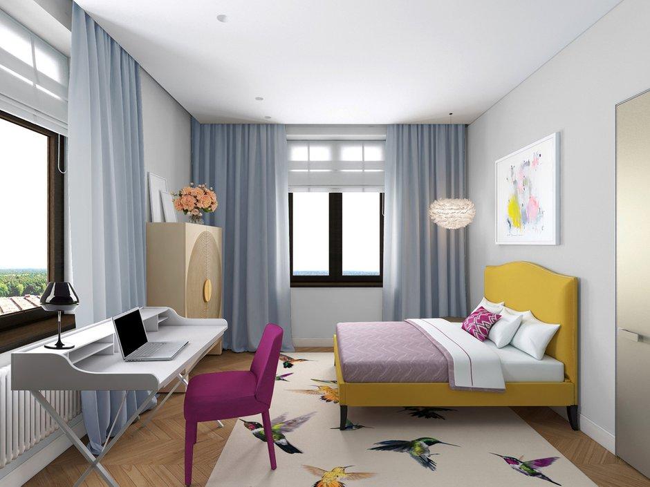 Фотография: Спальня в стиле Скандинавский, Современный, Дом, Минимализм, Проект недели – фото на INMYROOM