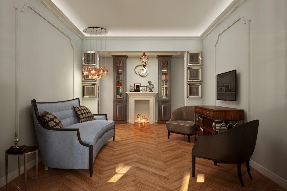 Фотография:  в стиле , Классический, Квартира, Проект недели, Москва, Ануш Аракелян, П-3М – фото на INMYROOM