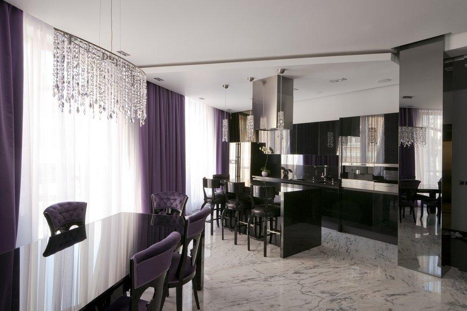 Фотография: Кухня и столовая в стиле Современный, Квартира, Дома и квартиры, Москва – фото на INMYROOM