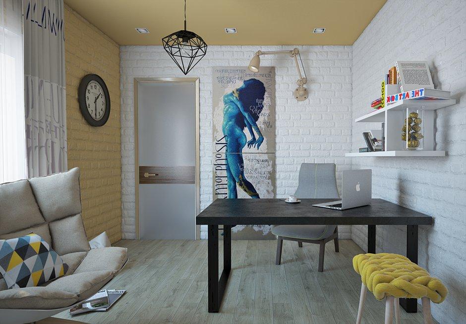 Фотография: Спальня в стиле Лофт, Современный, Квартира, Дома и квартиры – фото на INMYROOM