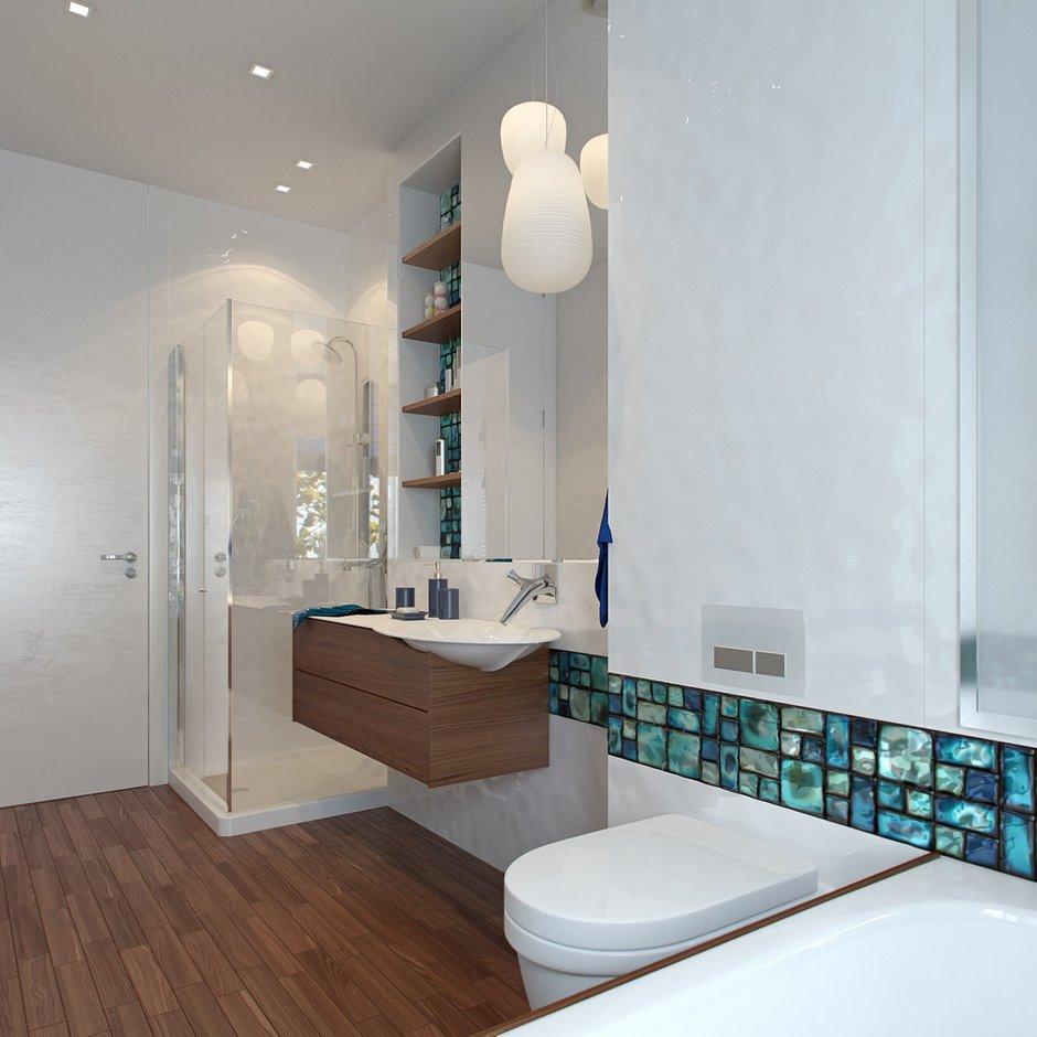 Фотография: Ванная в стиле Современный, Квартира, Дома и квартиры, Проект недели, Пентхаус – фото на INMYROOM