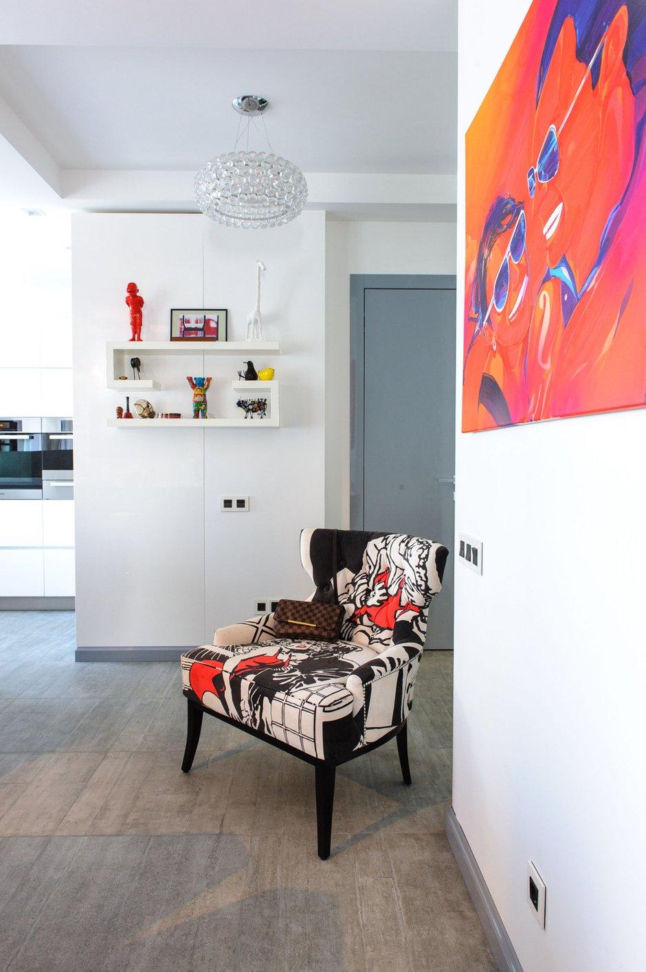 Фотография: Мебель и свет в стиле Лофт, Квартира, Дома и квартиры, Проект недели, Поп-арт – фото на INMYROOM