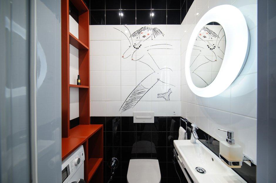 Фотография: Прочее в стиле , Лофт, Квартира, Дома и квартиры, Проект недели, Поп-арт – фото на INMYROOM